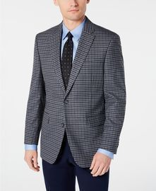 Tommy Hilfiger Men's Modern-Fit THFlex Stretch Check Sport Coat