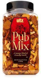 Utz Pub Mix, 44 oz Barrel