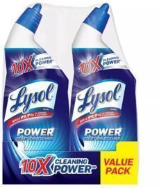Lysol Power Toilet Bowl Cleaner 2-Pack