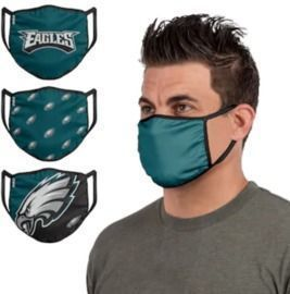 NFL Team Face Covering 3-Packs - Pre-Order
