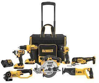 DeWALT 7-Tool 20V MAX Power Tool Combo Kit