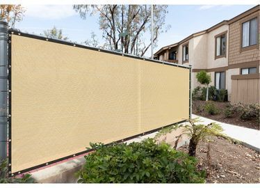High-Density Polyethylene Privacy Screen