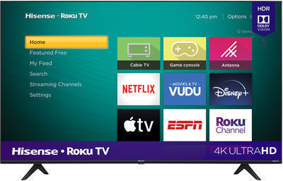 HOT! Hisense 58 Class 4K UHD LED Roku Smart TV HDR 58R6E3