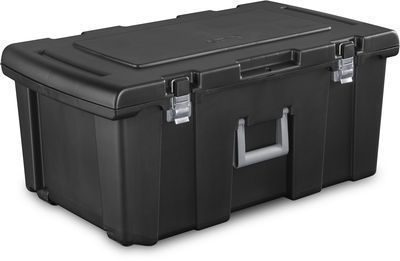 16-Gallon Sterilite Footlocker Storage Box w/ Wheels