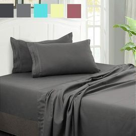 Microfiber 4-Piece Sheet Set (Queen)