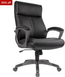 Wedgemere Bonded Leather High-Back Manager Chair