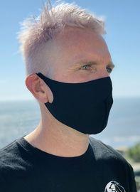 10pk of Black Laser Cut Face Masks