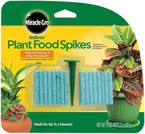 Miracle-Gro Indoor Plant Food Spikes 48-Pk