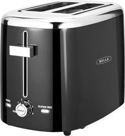 Bella 2-Slice Extra-Wide/Self-Centering-Slot Toaster