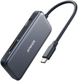 Anker 5-in-1 USB-C Hub w/ 4K HDMI, 2x USB 3.0, SD & microSD Card Reader