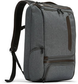 Pro Slim Leather Trim Laptop Backpack