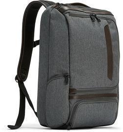 Pro Slim Leather Trim Laptop Backpack