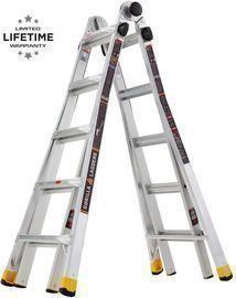 Gorilla Ladders 22 MPX Aluminum Multi-Position Ladder, 300 lbs. Load Capacity
