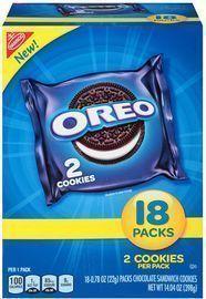 Oreo Chocolate Sandwich Cookies 72-Pack