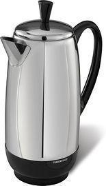 Farberware 12-Cup Percolator, Stainless Steel