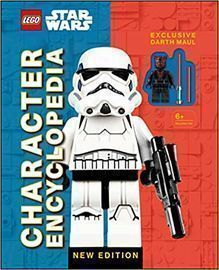 LEGO Star Wars Character Encyclopedia w/ Minifigure