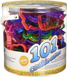 Wilton Cookie Cutters Set, 101 Pieces