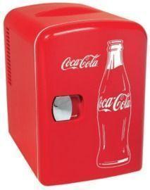 Classic Coca Cola 4 Liter/6 Can Portable Fridge