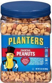Planters Salted Cocktail Peanuts 35-Oz. Jar