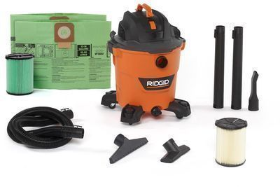 Ridgid 12-Gallon 5.0-Peak HP NXT Wet/Dry Shop Vacuum w/ Accessories