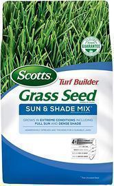 Scotts Turf Builder Grass Seed Sun & Shade Mix, 3lb