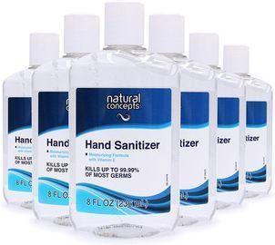 In-Stock Alert! Natural Concepts 6pk Hand Sanitizer Gel