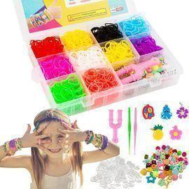 Rainbow Rubber Bands Bracelet Making Kit