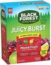 Black Forest Fruit Snacks - 40ct