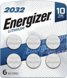 Energizer 2032 3V Lithium Coin Battery 6-Pack