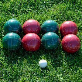 Regulation Bocce and Bowling Set, 10pc