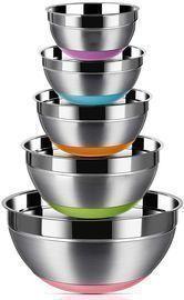 Regiller Stainless Steel Mixing Bowls, Set of 5