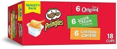 Pringles Flavored Variety Pack 18-Count