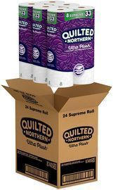 Quilted Northern 24 Rolls Ultra Plush Toilet Paper