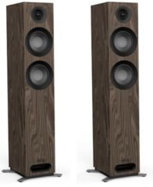 Jamo S 807 Floorstanding Dolby Atmos Ready Speakers, Walnut, Pair