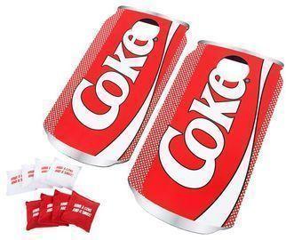 Coca-Cola 10 Piece Pop Art Cornhole Set
