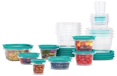 Rubbermaid Press & Lock Food Storage Containers, 42pc Set