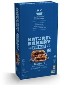 Nature's Bakery Whole Wheat Blueberry Fig Bars 12-Count