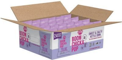 24-Pack Angie's BOOMCHICKAPOP Salty Kettle Corn Popcorn, Gluten Free