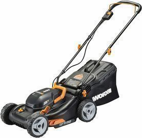 WORX WG743 17 40V PowerShare Lawn Mower (Open Box)