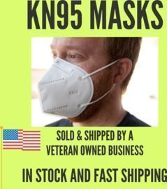 KN95 5-Layer Respirator > 95% Filter Protection (Multi-Packs)