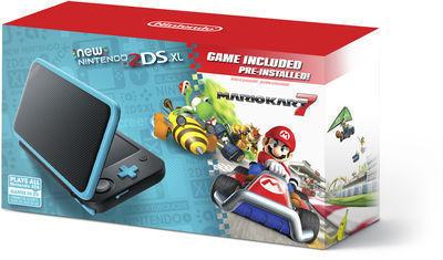New Nintendo 2DS XL Console w/ Mario Kart 7