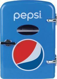 Pepsi Portable 6-Can Mini Fridge