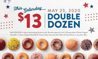 Today Only! Double Dozen for $13