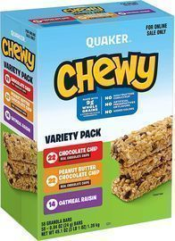 Quaker Chewy Granola Bars 58-Variety Pack