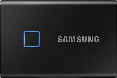 Samsung 1TB T7 Touch Portable SSD (Black)