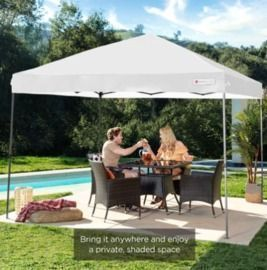 10'x10' Portable One Button Instant Pop Up Canopy