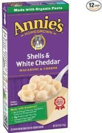 Annie's Shells & White Cheddar Mac and Cheese - 12 Pack