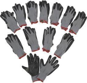 Ironton Nitrile-Coated Work Gloves 12 Pairs