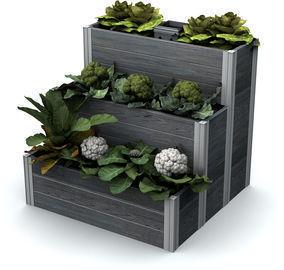Urbana 3x3 Tiered Composting Garden