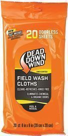 Dead Down Wind Unscented All-Purpose Wash Towels 20-Pack